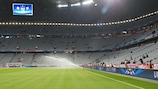 The Fußball Arena München will not be fully open during Bayern's next European home game