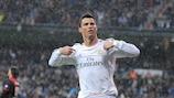 Ronaldo iguala el récord de goles