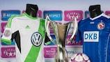 O Wolfsburgo, detentor do troféu, defronta o rival alemão do Potsdam, duas vezes vencedor da prova