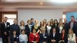 Participantes en el seminario de Minsk