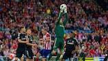 """Simeone: """"Chelsea não deu espaços ao Atlético"""""""