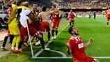 Sevilla bask in Mestalla glory