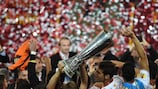 Sevilla jubelte 2014 in Turin