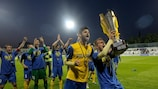 Košice rejoice after beating Slovan to claim their second post-independence Slovak Cup