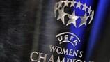 O troféu da UEFA Women's Champions League