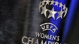 Il trofeo della UEFA Women's Champions League