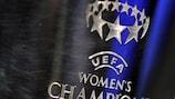 Der Pokal der UEFA Women's Champions League