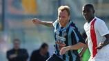 Paltemio Barbetti in action for Sliema
