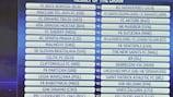 Le 2e tour de qualification de l'UEFA Champions League