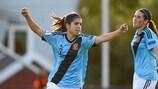 Alba Redondo marcó dos goles en la vicroria de España