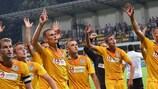Os moldavos do Zimbru fazem a festa depois de afastarem o CSKA Sofia