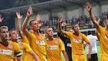 Zimbru a éliminé le CSKA Sofia