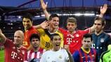 I candidati al premio Best Player in Europe