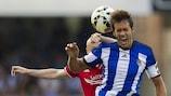 Xabi Prieto (Real Sociedad de Fútbol) marcó dos goles