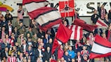 AaB fans show their colours