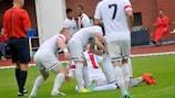 Trenčín were celebrating again after winning the Slovak Cup