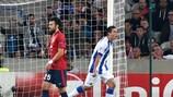 Hector Herrera festeja após marcar o tento solitário do jogo