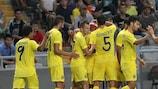 Hasta en tres ocasiones el Villarreal CF perforó la meta de su rival en Kazajstán