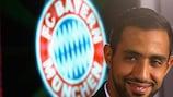 Medhi Benatia no dia em que foi apresentado no Bayern