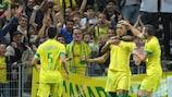 Yacine Bammou made a quick impression for Nantes