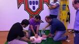 Il corso del programma 'Football Doctor Education' in Portogallo