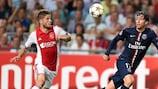 Schöne free-kick earns Ajax draw against Paris