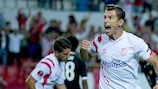 Grzegorz Krychowiak has a chance of helping Sevilla retain their title in his homeland