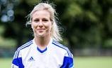 Svenja Huth war trotz des 5:0-Sieges nicht ganz zufrieden