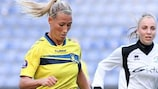 Theresa Nielsen è stata tra le marcatrici per il Brøndby contro il Gintra