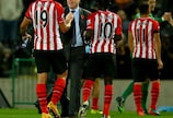 Ronald Koeman celebrates with his players after another victory