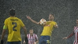 The match between Estoril and PSV was abandoned due to heavy rainfall