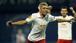 Kevin Kampl scored twice in Salzburg's 5-1 victory over Astra