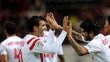 O Sevilha começa a defesa do título com uma difícil eliminatória em perspectiva, frente ao Borussia Mönchengladbach