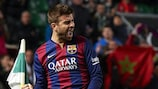 Gerard Piqué answered questions on his official Facebook page