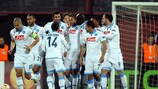 O Nápoles marcou quatro na visita ao Trabzonspor