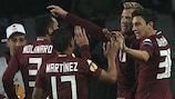 Maxi López scored twice but Torino could not shake off Athletic
