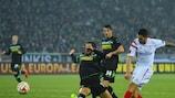 Vitolo (Sevilla FC) erzielte das zwischenzeitliche 2:1 für sein Team