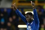 Romelu Lukaku was Everton's star performer in the round of 32