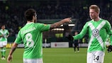 Vieirinha and Kevin De Bruyne are Wolfsburg's representatives in the team of the week