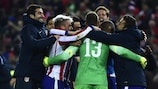 Atlético rejoice after their first European shoot-out success