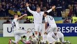 Dynamo celebrate their win