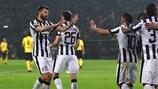 Dortmund v Juventus in tweets