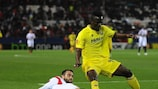 Vicente Iborra (Sevilla FC) hizo el 1-0, mientras que Eric Bailly (Villarreal CF) acabó expulsado
