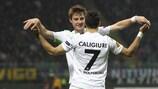Daniel Caligiuri (VfL Wolfsburg) adelantó al Wolfsburgo en Italia