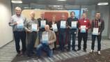 I partecipanti al workshop ad Amsterdam