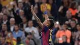 Neymar célèbre l'ouverture du score