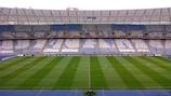 The NSK Olimpiyskyi will stage UEFA Champions League football again this season