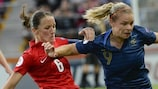 Casey Stoney's England and Eugénie Le Sommer's France are matched in their opening game