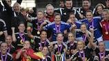 Frankfurt won a fourth title last season