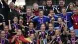 O Frankfurt conquistou o quinto título na época passada